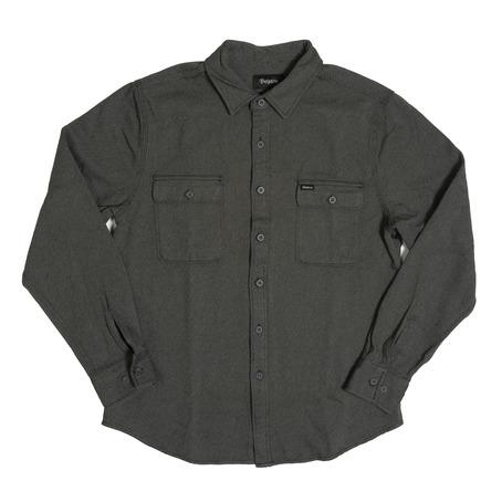 Brixton Donez Shirt - Charcoal Grey