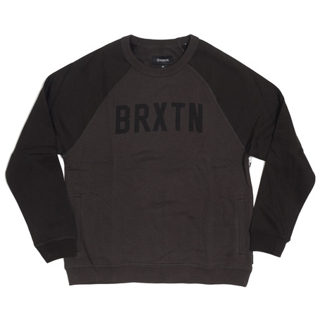 Brixton Hamilton Crew - Charcoal/Black