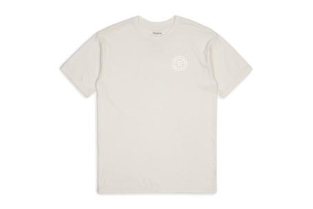 Brixton Oath T-Shirt - Off White