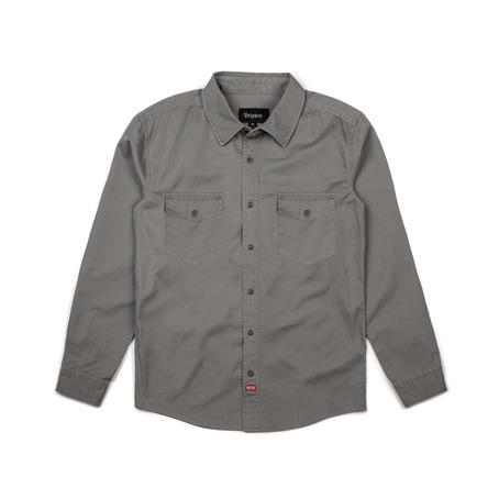 Brixton Olson Shirt - Light Grey