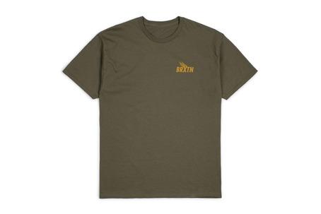 Brixton Rogers T-Shirt - Olive