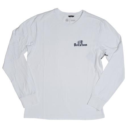 Brixton Tanka Long Sleeve - White