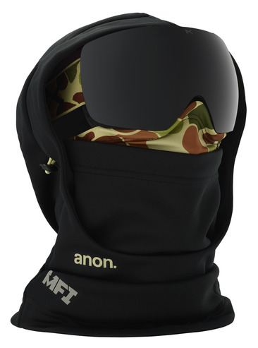 Anon MFI Hooded Balaclava - Duck Camo Black
