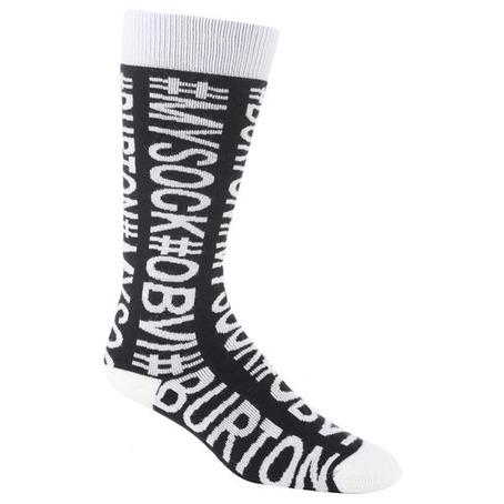 Buron Womens Party Sock - Hashtag