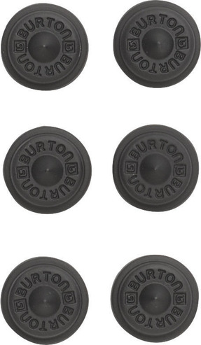Burton Aluminium Stud Stomp Pad - Black
