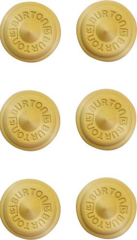 Burton Aluminium Stud Stomp Pad - Gold