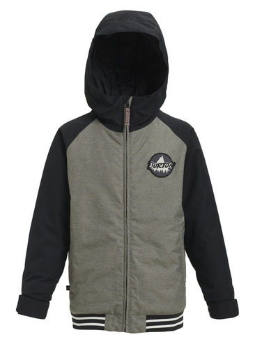 Burton Boys Gameday Jacket - Bog Heather/Black