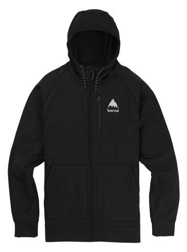 Burton Crown Full Zip Hood - True Black