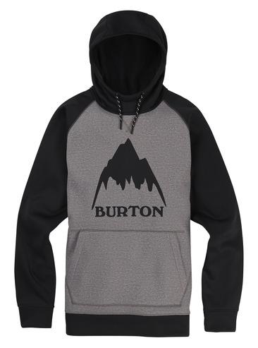 Burton Crown Hood Pull Over - Monument Heather