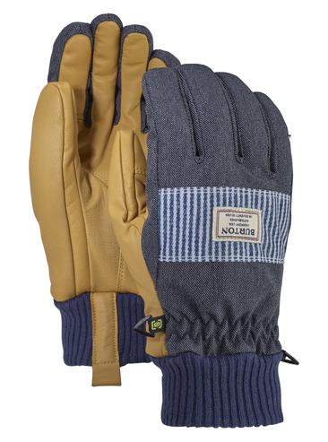 Burton Dam Glove - Denim/Stripe