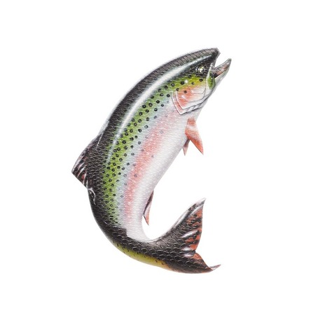 Burton Foam Mat Stomp Pad - Brushie fish