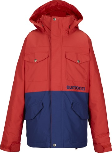 Burton Fray Kids Jacket - Fang/Deep Sea