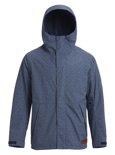 Burton Hilltop Jacket - Mood Indigo Twill