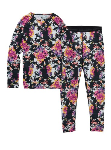Burton Kids Lightweight Base Layer Set - Garden