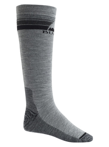 Burton Mens Emblem Sock - Grey Heather