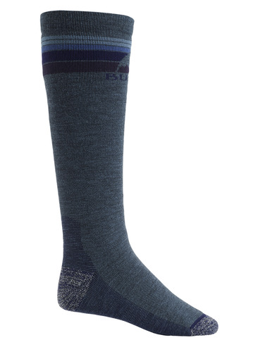 Burton Mens Emblem Sock - Indigo Heather