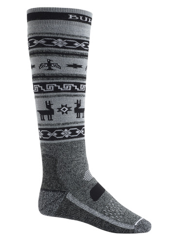 Burton Performance Midweight Sock - True Black Heather