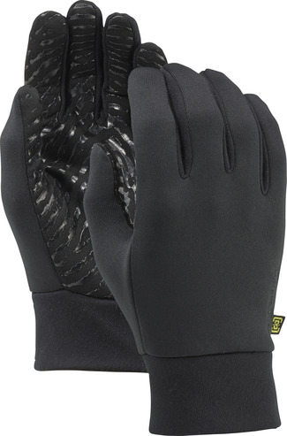 Burton Powerstretch Liner Glove - True Black