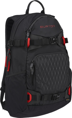 burton RIDERS PACK - True Black Cordura
