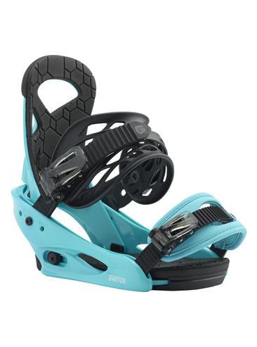 Burton Smalls Kids Snowboard Binding - Surf Blue