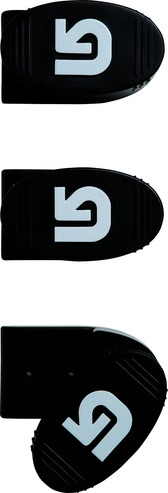 Burton Snowboard Wall Mounts - Black