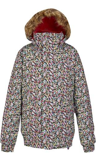 Burton Twist Bomber Jacket - Pixi Dot
