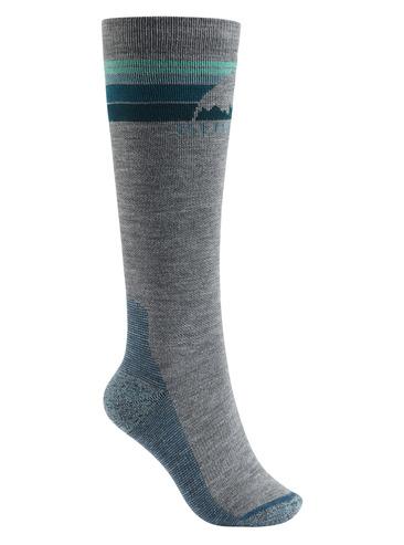 Burton Womens Emblem Sock - Grey Heather