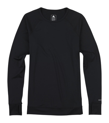 Burton Women's Lightweight Crew - True Black