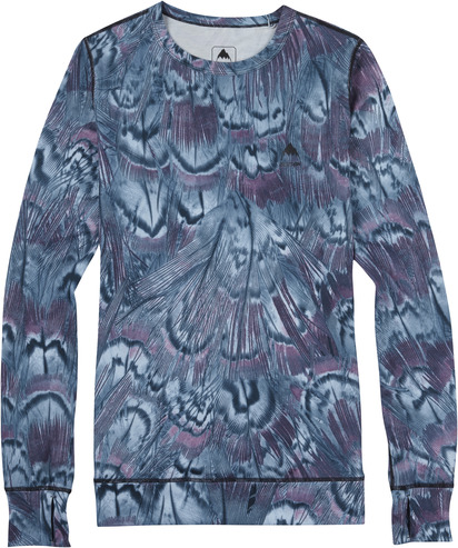 Burton Womens Midweight Crew - Feathers