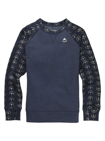 Burton Womens Oak Crew - Mood Indigo