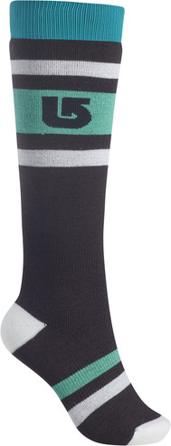 Burton Womens Weekend Sock 2 Pack - True Black
