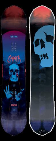 Capita Ultrafear Snowboard 2018 - 153