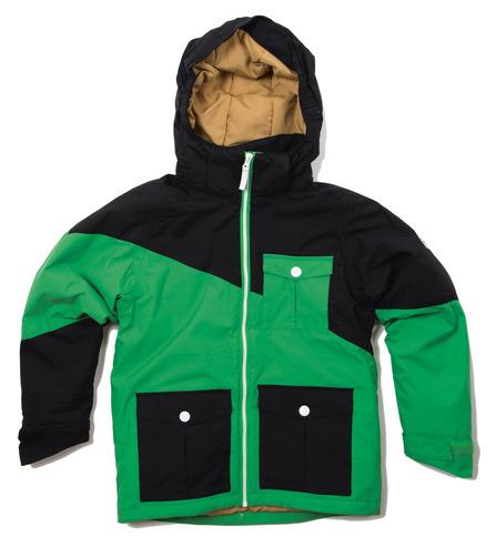 Colour Wear Drop Jacket - Key Green