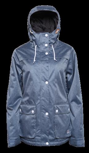 Colour Wear Ida Jacket - Denim Blue