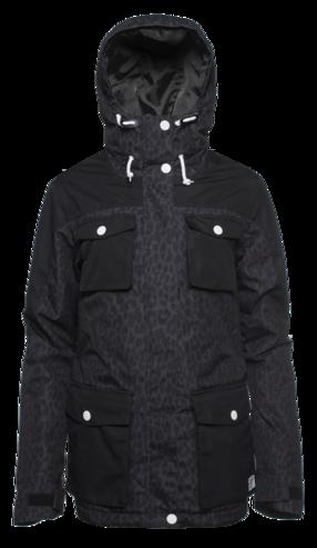 Colour Wear Mellow Jacket - Black Leo