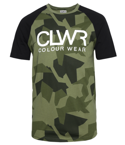 Colour Wear TTR T-Shirt - Asymmetric Loden