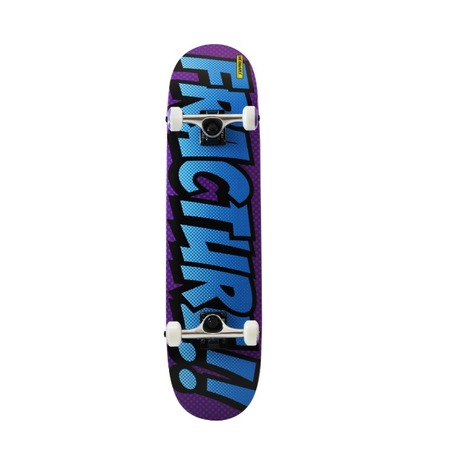FRACTURE COMIC 4 COMPLETE SKATEBOARD - 7.75