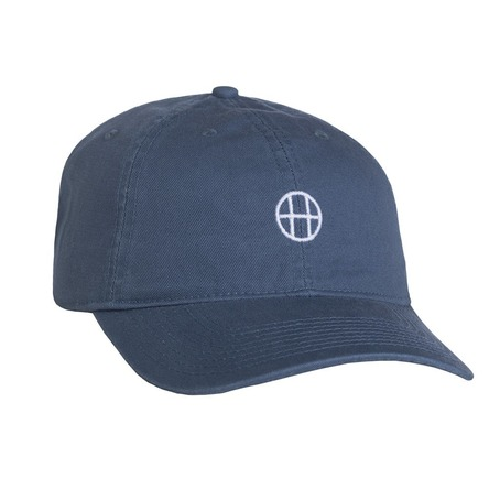 Huf Circle H Curve Dad Hat - Slate