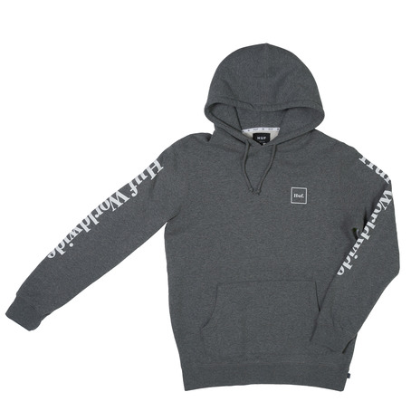 Huf Domestic Hooded Sweat - Gunmetal