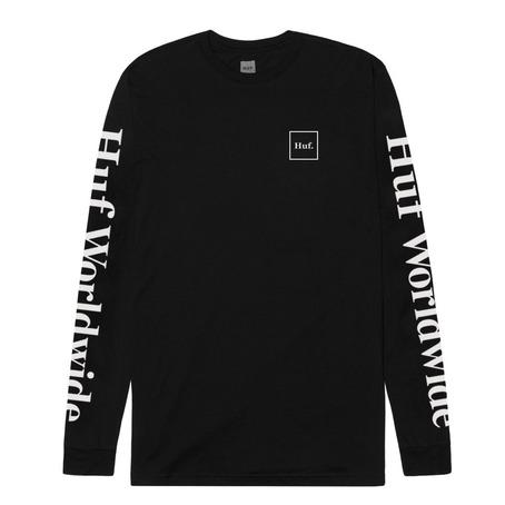 Huf Domestic Long Sleeve - Black