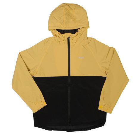 Huf Standard Shell Jacket - Black/Yellow