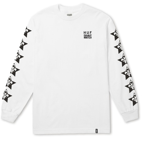 HUF X Sammy Winter Long Sleeve - White