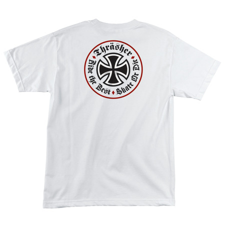 Independent X Thrasher Oath T-Shirt - White