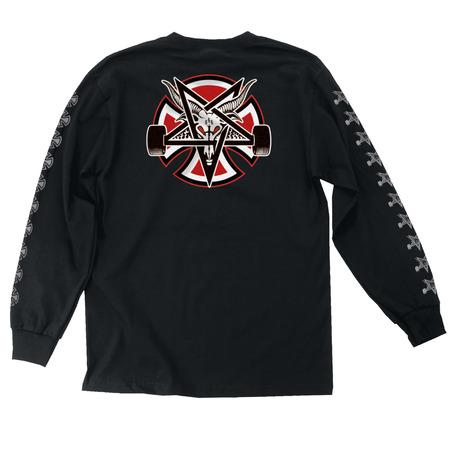 Independent X Thrasher Pentagram Long Sleeve - Black