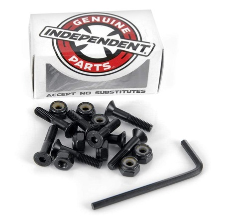 Indy Bolts Allen Black - 1 inch