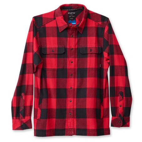 Kavu Northlake Shirt - Red