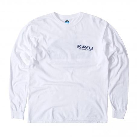 Kavu True Long Sleeve - Winter White