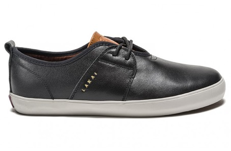 Lakai X DQM Albany - Black/Brown Leather