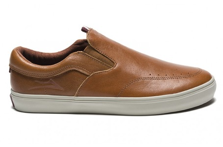 Lakai X DQM Owen - Golden Brown Leather