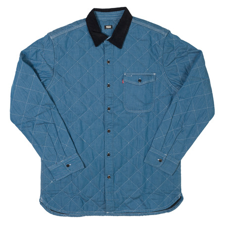 Levis Skateboarding Mason Quilted Shirt - Washed